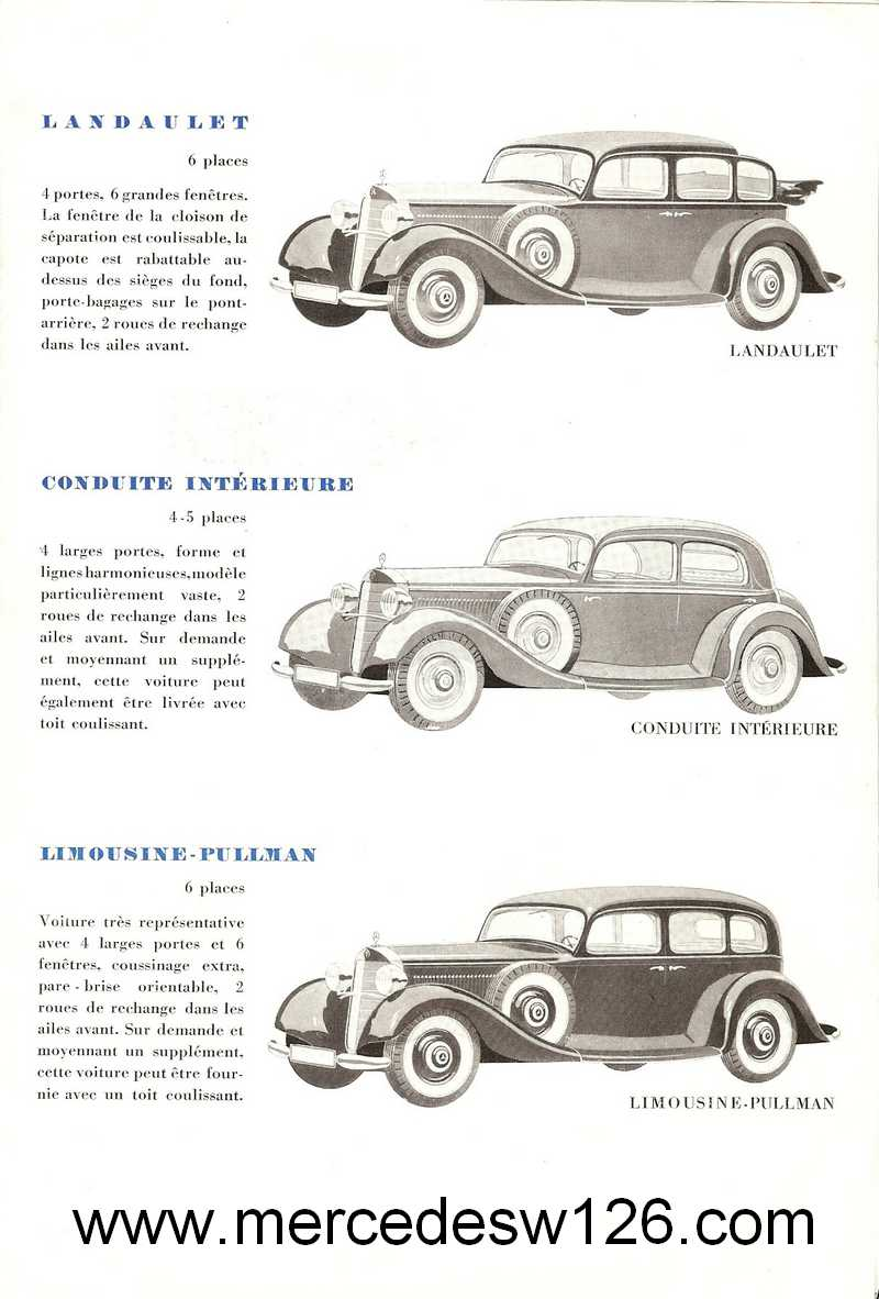 Catalogue de 1936 sur les Mercedes W143 230 W143_p14