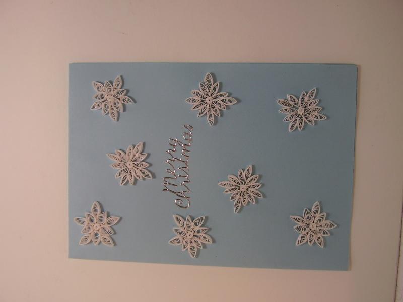 SNOWING CARD 01311