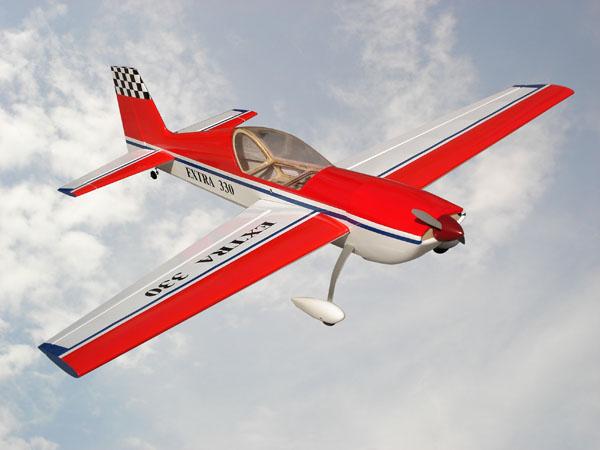 commander un avion RC Extra310