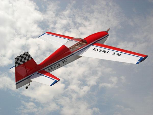 commander un avion RC Extra311