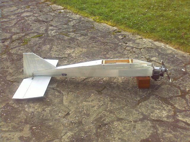 construction avion avec moteur  debroussailleuse   Image110