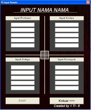 Aplikasi Random pemain futsal versi notebook (VISUAL BASIC) Putsal11