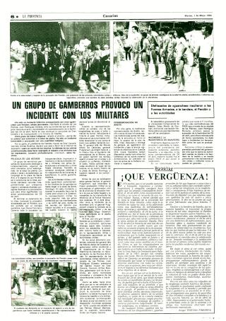 Sucesos en Las Palmas el 29-4-1984. 1984-410