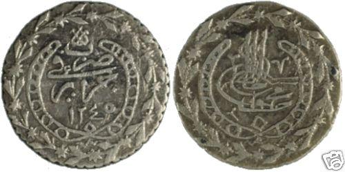 Monnaie de la fin de la période ottoman en Algérie 16_bud10