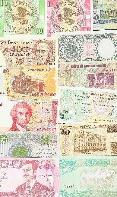 Échange divers billets contre billets algériens 31_dif11