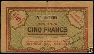 Billets Algériens pour camp de prisonniers 1940 5_fran11