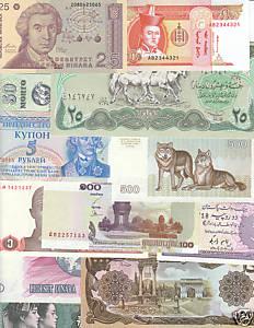 Échange divers billets contre billets algériens Bosrzy10