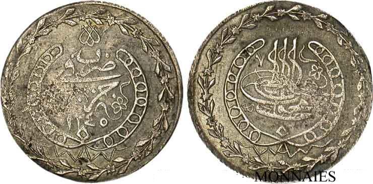 Monnaie de la fin de la période ottoman en Algérie V19_1710