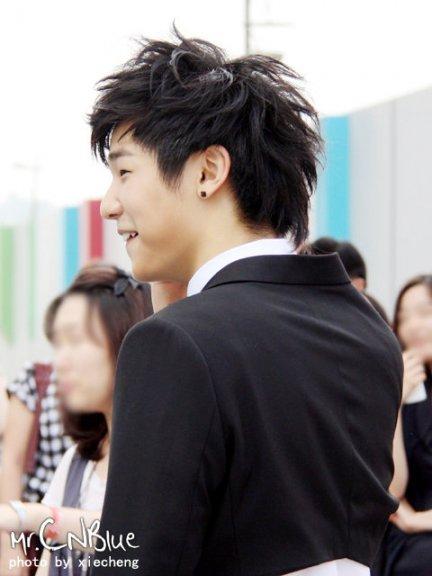 Cutie MinHyuk at M COUNTDOWN(15 Juillet 2010) 310