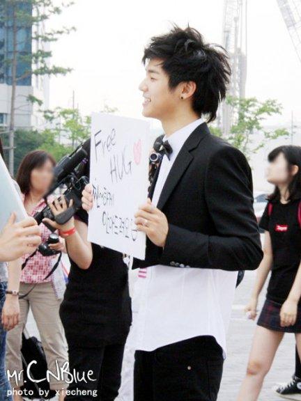Cutie MinHyuk at M COUNTDOWN(15 Juillet 2010) 410