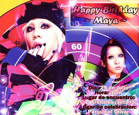 I REUNION: Cumpleaños Maya ^^ Cumple10