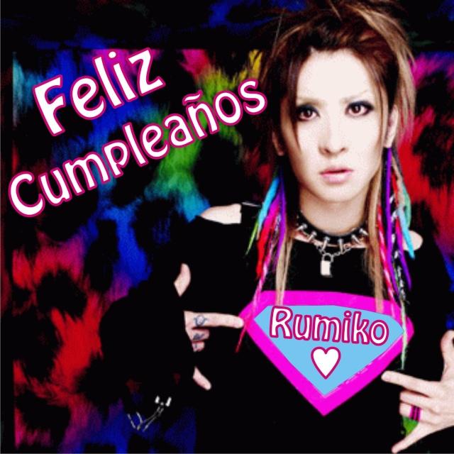 Feliz Cumpleaños Rumiko Cumple11