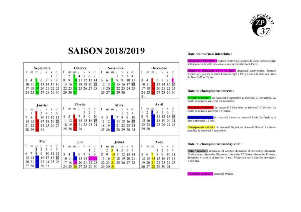 saison 2018/2019 Calend11