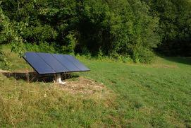 Photovoltaïque pour irrigation verger. Imgp6710