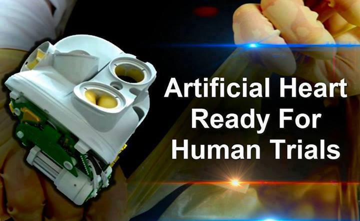 Artificial Heart Ready for Human Trial 94123610