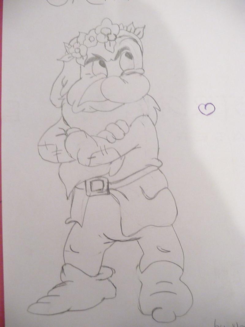 Mes dessins Disney P1020836