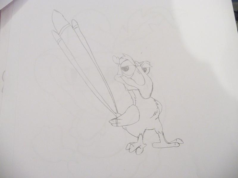 Mes dessins Disney P1020842