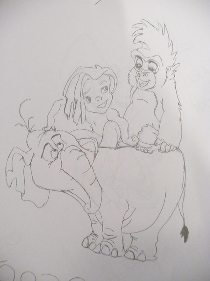 Mes dessins Disney P1020843
