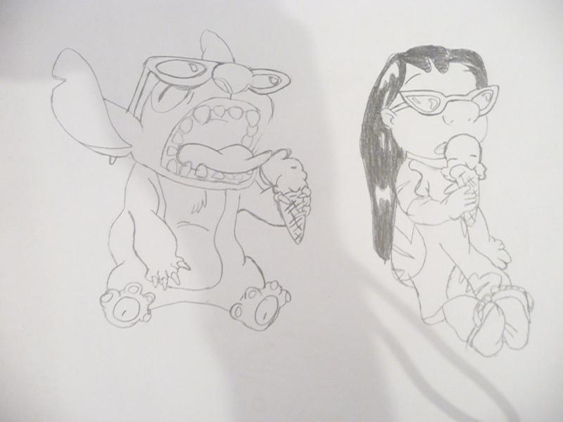 Mes dessins Disney P1020851