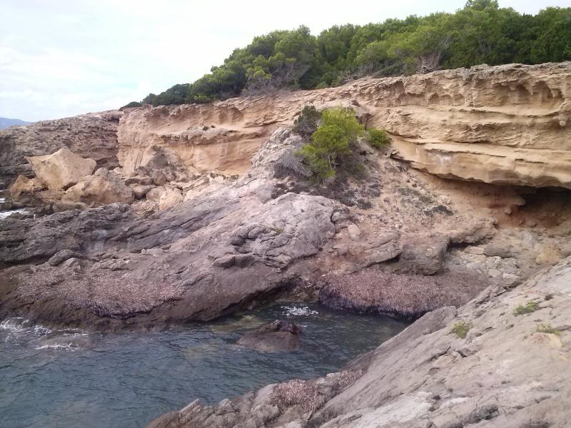 Grotta del Bacio e Spiaggia dei Francesi Cam02016