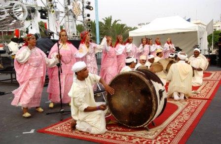 تنظيم المهرجان الوطني لفنون أحواش بمدينة ورزازات  *دورة 2012*  Ahwach10