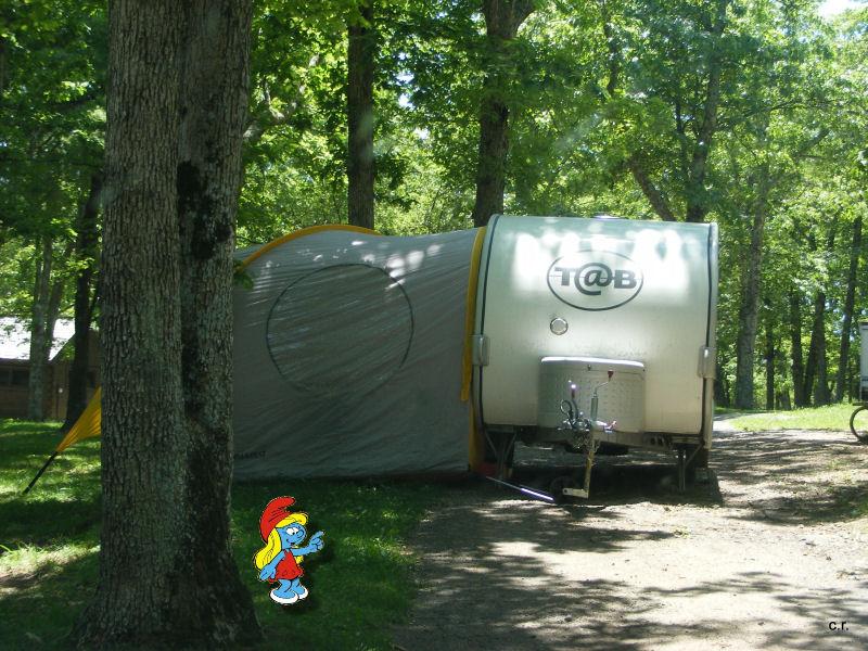 La Petite Stroumfette Rouge roule toujours,  Shenandoa montain, Washington, Cape Hatteras, Québec, Ontario 0210
