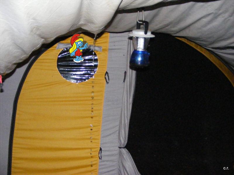 La Petite Stroumfette Rouge roule toujours,  Shenandoa montain, Washington, Cape Hatteras, Québec, Ontario 0410