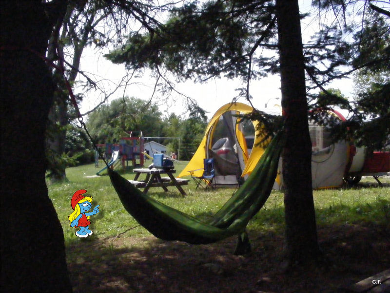 La Petite Stroumfette Rouge roule toujours,  Shenandoa montain, Washington, Cape Hatteras, Québec, Ontario 0710