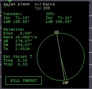 Allineamento piani Orbite11