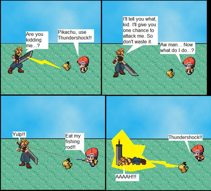 HG's Sprite Comic. Advent15