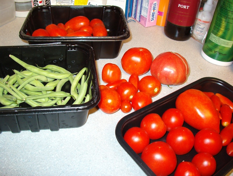 My Harvest Today 26july12