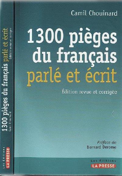 1300 pieges du francais parle et ecrit K93a2010