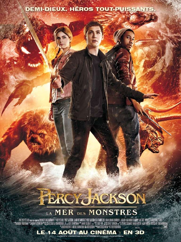 Percy Jackson 2, La Mer des Monstres  Affich10