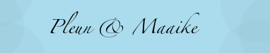 RPG site voor Pleun & Maaike