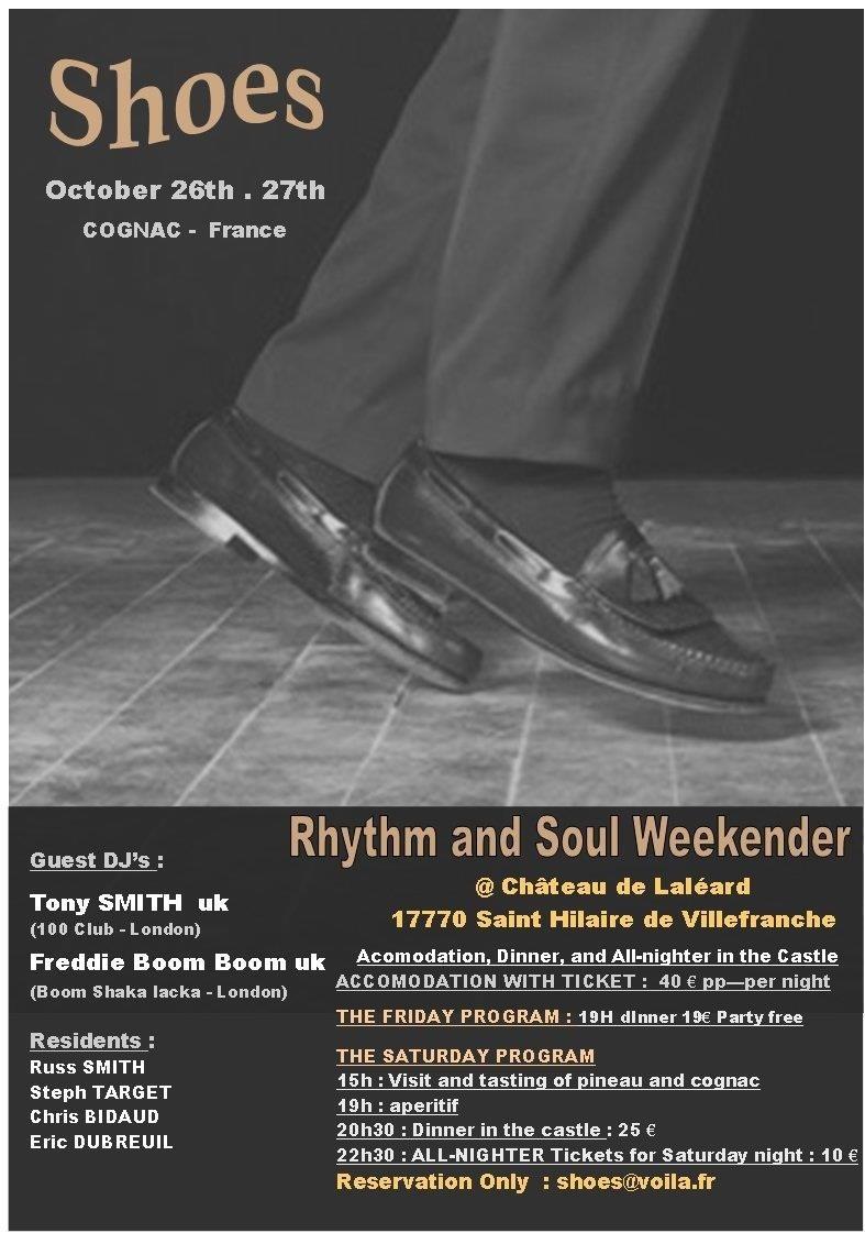""""""" SHOES """" Week ender Soul in COGNAC 26 et 27 oct. Shoes_10"""