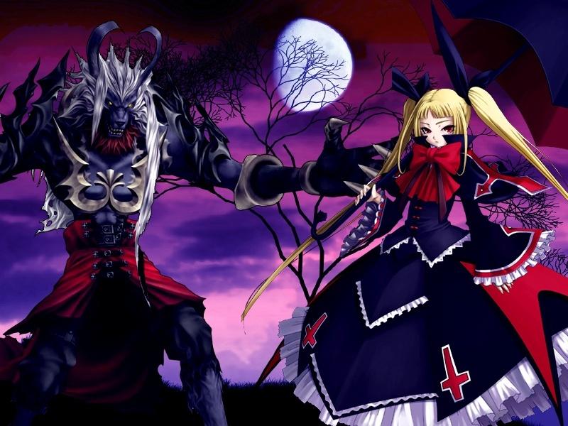 vampiros y licantropos