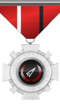 This medal is awarded to a member who distinguished by his/her actions beyond duty.