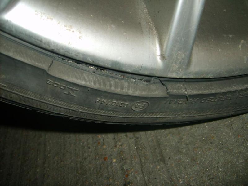 [BMW 318 d E90] Eclatement de pneus runflat S5003110