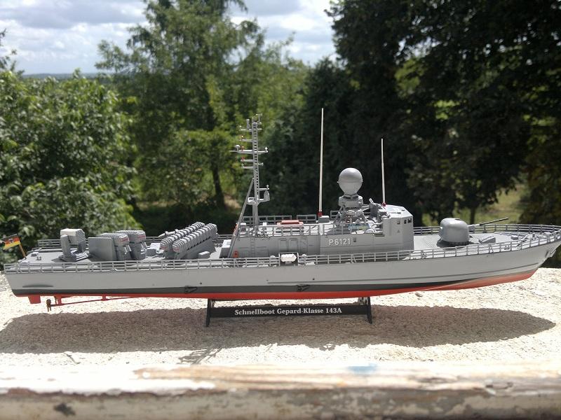 Schnellboot Gepard -Revell 1/144- 06082010