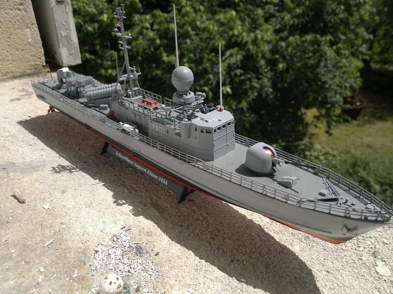 Schnellboot Gepard -Revell 1/144- 06082012
