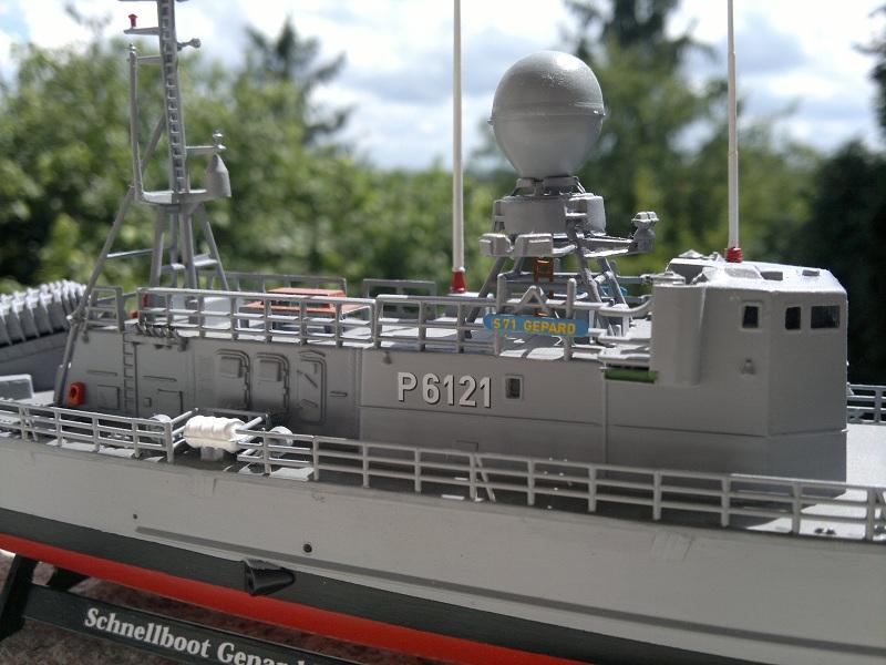 Schnellboot Gepard -Revell 1/144- 06082013