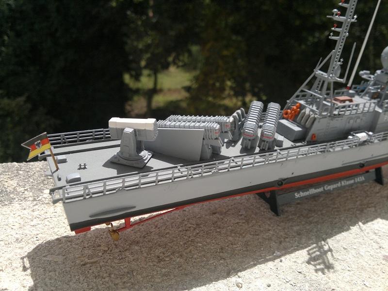 Schnellboot Gepard -Revell 1/144- 06082014