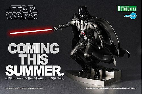Kotobukiya - Darth Vader Return of Jedi ArtFX Statue Darth-10