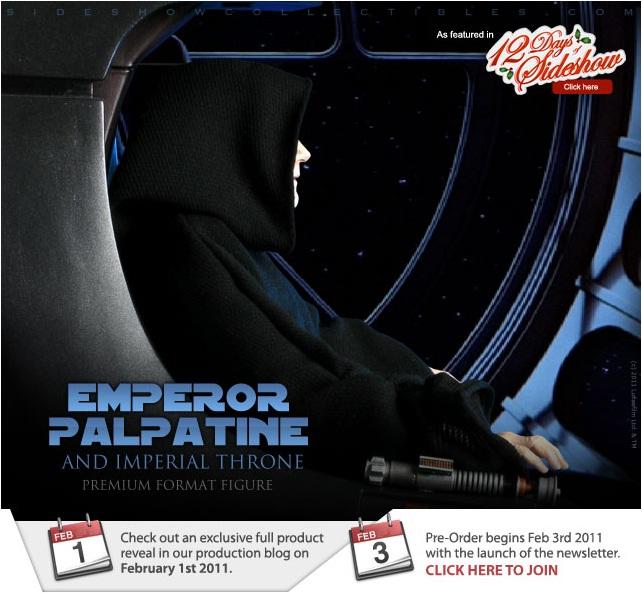 Sideshow - Palpatine on throne - Premium Format 2011 Epereu10