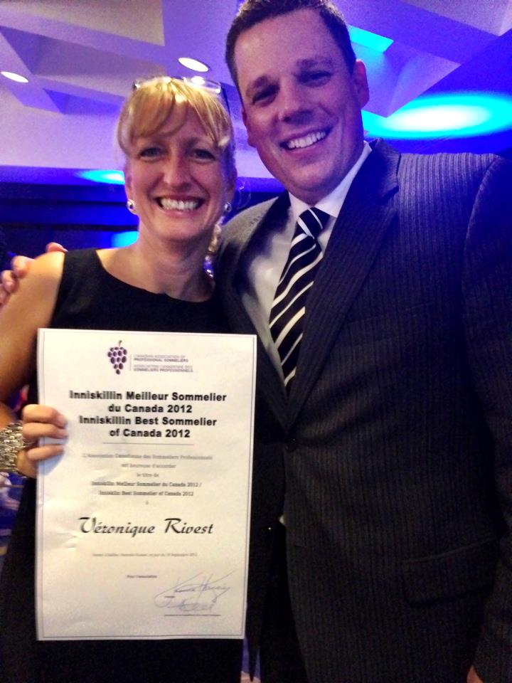 Meilleur sommelier du Canada 2012: Véronique Rivest! Vero11