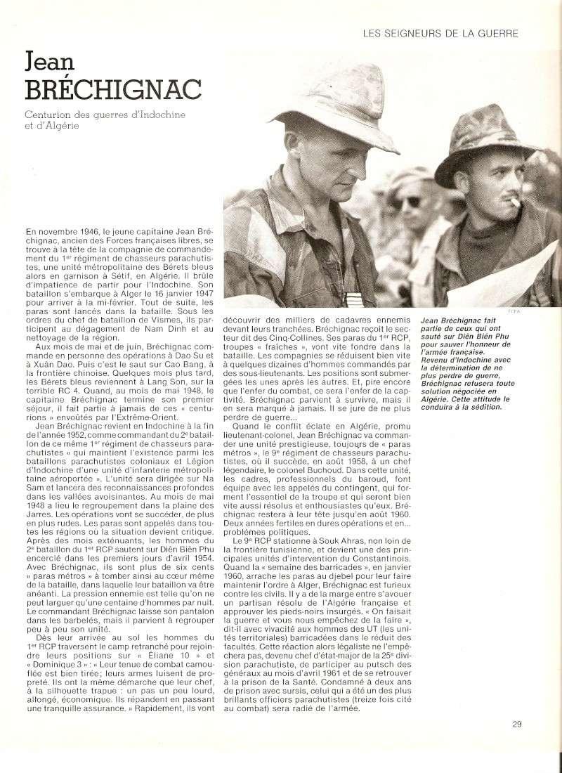 Jean BRECHIGNAC Centurion des guerres d'Indochine et d'Algérie Numari17