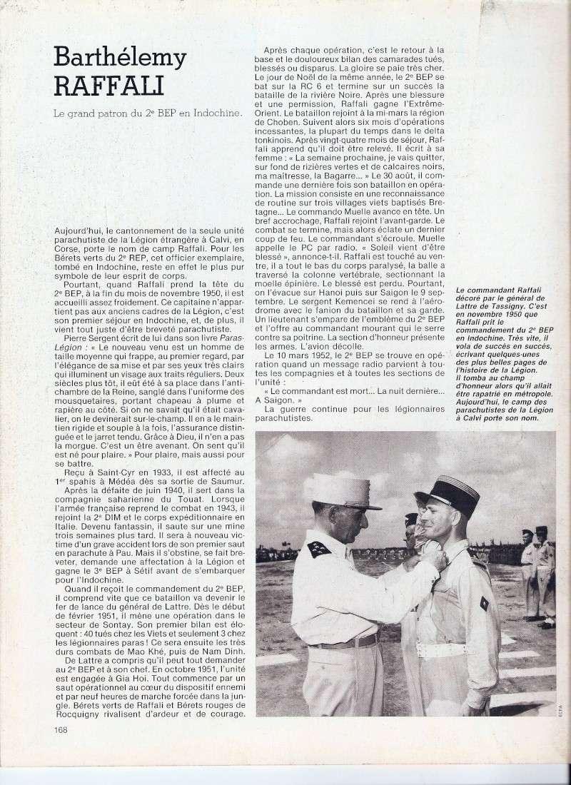 Barthélemy RAFFALI, le grand patron du 2e BEP en Indochine Numari21