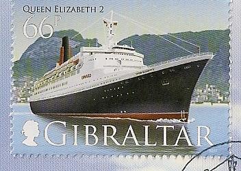 QE2 Stamps 4d_gib10