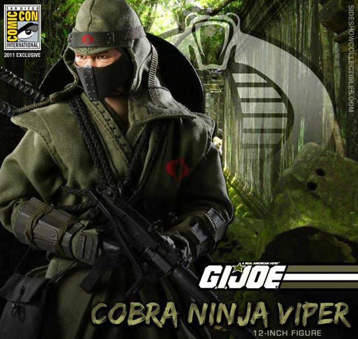 [GI JOE] sideshow: LES PERSONNAGES sur le premier post Cobra-11
