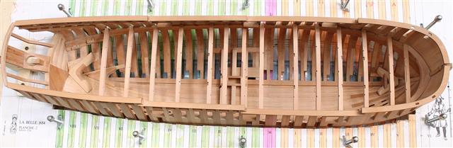 La Belle 1684 scala 1/24  piani ANCRE cantiere di grisuzone  Img_0511
